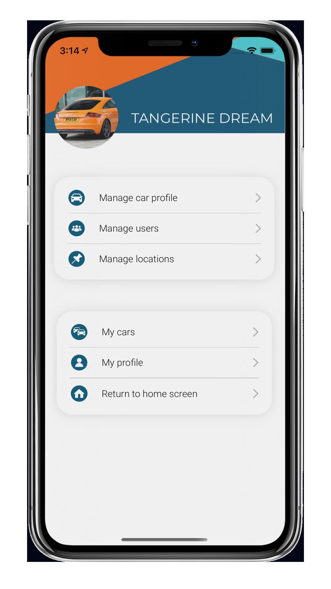 Car Profile Screen