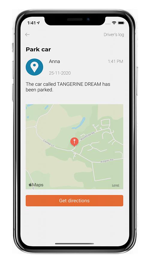Park Navigation Screen
