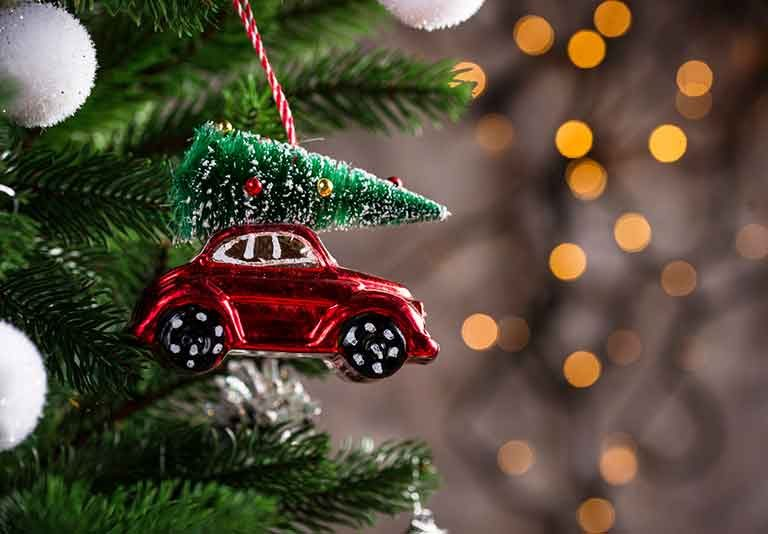 Car Christmas Decoration