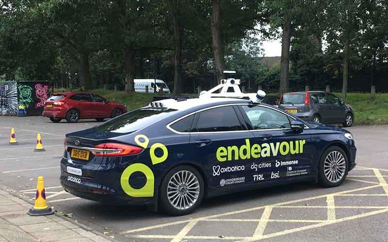 Autonomous Ford Mondeo